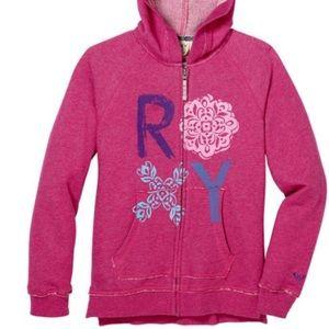 Distressed looking sweatshirt from ROXY
